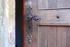 Free Ancient Door Detail Royalty Free Stock Image - 31867636