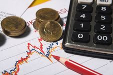 Free Financial Or Accounting Concept Royalty Free Stock Photo - 31868795