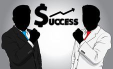 Free Business Man Success Royalty Free Stock Image - 31877146
