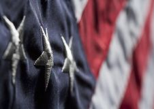 Free Old Glory Close Up Royalty Free Stock Photos - 31881818