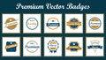 Free Premium Vector Badges Stock Photography - 31897622