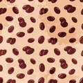 Free Coffee Beans Seamless Pattern Stock Photography - 31897892