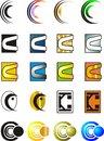 Free Letter C Logo Royalty Free Stock Photo - 31899775