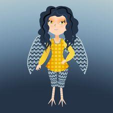 Free Harpy Royalty Free Stock Photos - 31894068