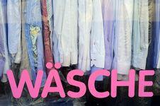 Free German Laundromat Royalty Free Stock Photo - 31894235