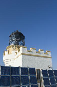 Free Lighthouse, Brough Of Birsay Stock Photo - 31898850