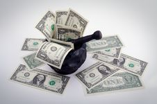 Free Grinding For Dollars Stock Photo - 3190210