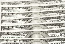 Free Hundred Dollar Bills Royalty Free Stock Image - 3190236