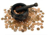Free Grinding For Pennies Royalty Free Stock Photos - 3190238