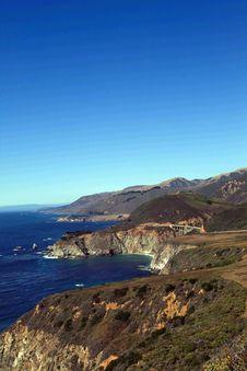 Free California Coast Royalty Free Stock Photography - 3190957