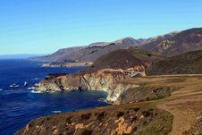 California Coast Royalty Free Stock Images