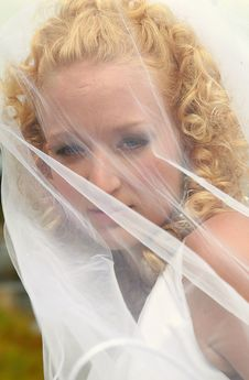 Free Bride With Veil Stock Images - 3191484