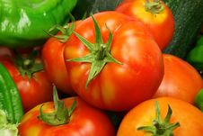 Free Tomatoes And Vegetables Stock Photos - 3191493