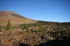 Free Black Lava River Stock Images - 3191724