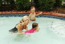 Swimming Lessons Stock Images