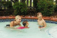 Swimming Lessons Royalty Free Stock Photo
