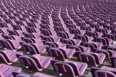 Free Stadium Seats Royalty Free Stock Photography - 3193137
