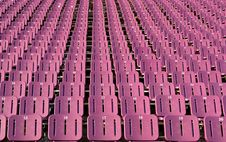 Free Stadium Seats Royalty Free Stock Photo - 3193225