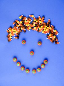 Free Candy Corn Head Stock Image - 3193381