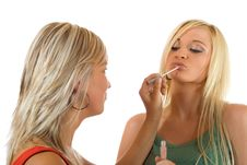 Free Make Up Royalty Free Stock Photography - 3193597