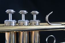 Free Trumpet Parts Stock Photography - 3193672