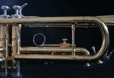 Free Trumpet Parts Stock Images - 3193704