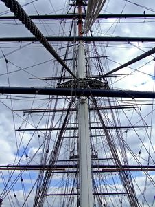 Free Clipper Mast Stock Image - 3193771