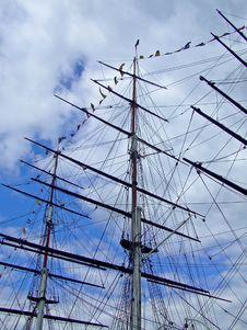 Sail Ship Royalty Free Stock Photos