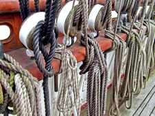 Free Sailship Ropes Stock Images - 3193804