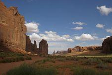 Free Monument Valley Third Shoot Stock Photos - 3194003