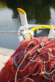 Free Fishing Nets Royalty Free Stock Photos - 3194198