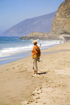 Free Retirement On The Beach Royalty Free Stock Photos - 3194498