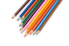 Free Color Pencils Stock Images - 3195654