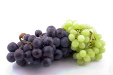 Free White And Blue Grapes Royalty Free Stock Images - 3195719