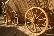 Free Wagon Wheel Royalty Free Stock Photo - 3196255