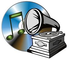 Free Phonograph With Cd Stock Images - 3196724
