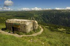 Free The Blockhouse In Mountain Stock Photos - 3196933
