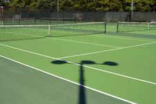 Free Afternoon Tennis Royalty Free Stock Image - 3197066