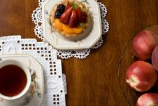 Free Dessert And Tea Royalty Free Stock Photography - 3197687