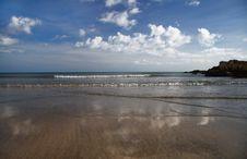 Free Perfect English Sandy Beach Stock Photography - 3197992