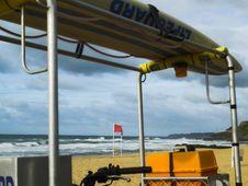 Free Lifeguard Nowhere To Be Found Stock Photo - 3198120