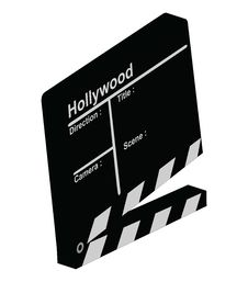 Free Clapper 3D Stock Photos - 3198313