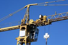 Free Top Of Yellow Crane Stock Photos - 3198593