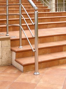 Free Front Staircase Royalty Free Stock Photos - 3198798