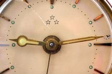 Free Old Clock Detail Royalty Free Stock Photos - 3199418