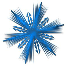 Free Snowflake Royalty Free Stock Photo - 3199605