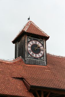 Free Clock On The Tower Stock Photo - 3199780
