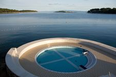 Free Swimming Pool On The Sea Stock Photos - 3199963