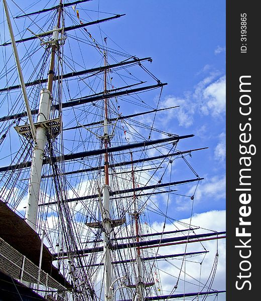 Vessel mast