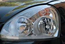 Free Forward Headlight Car. Stock Images - 31900144